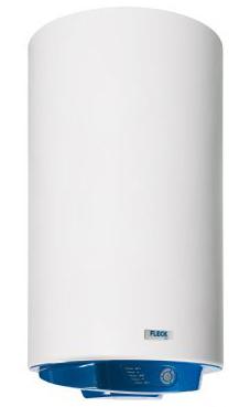 FLECK ELBA 50 de 50 litros de capacidad, recubrimiento vitifricado, garantía total de 2 años, 3 años en recambios y 5 años en el calderin.